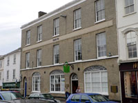 Today it is Lloyd's Bank, but in 1797 it was the home of Spink and Carss Bank.