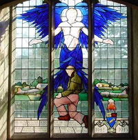Third Air Division Memorial window in Elveden Church