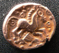 Gold stater of Addedemorus